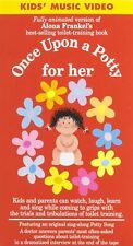 Once Upon a Potty For Her (VHS, 2001)