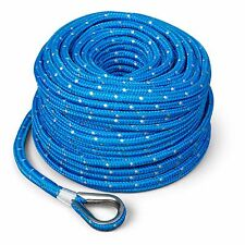 Marine Boat TRAC Premium Anchor Rope for all electric winches 100'  x 3/16""