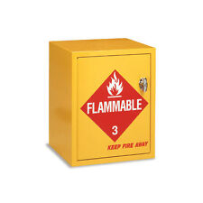 "Flammable Storage Cabinet  16.75""W x 17""D x 21.25""H 1 ea"