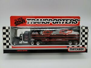 Dale Earnhardt #3 GM Goodwrench 1992 1:87  Team Transporter Matchbox