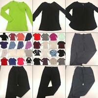 Huge Lot Women Small Winter Fall Clothing Pants Sweaters Long Sleeve Tops Bundle