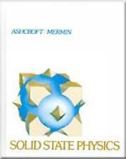 Solid State Physics by N. Mermin, Neil W. Ashcroft (Hardback, 1976)