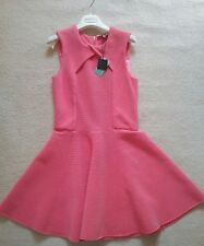BNWT TED BAKER LADIES PINK DRESS SIZE TB 2 UK 10 RRP £149