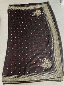 Asian (Indian) wedding saree excellent condition