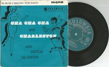 """VICTOR SILVESTER Cha Cha Cha / Charleston 45rpm 7"""" EP Vinyl Columbia SEG8032 DA"""