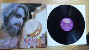 CARNEY LEON RUSSELL ORIGINAL 1972 SHELTER RECORDING WITH INSERT