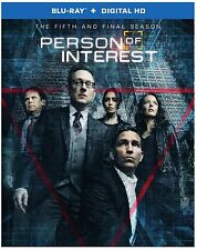 PERSON OF INTEREST: SEASON 5 -  Blu Ray - Region free