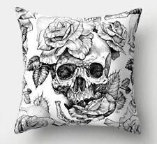 Sugar Skull Tattoo Goth Candy Taie d/'oreiller Housse de coussin Hardcore le jour des morts