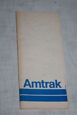 Vintage Amtrak Railroad Nationwide Schedules July 12, 1971