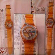 orologi swatch JELLY FISH 1985 special 35 ANNI nuovo mai indossato funziona raro