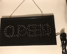Open/closed Sign Led With Hanging Chain