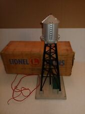Vintage LIONEL  NO. 193 WATER TOWER WITH BLINKING LIGHT & BOX