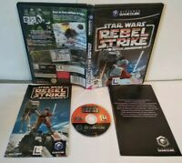 STAR WARS Rebel Strike : Rogue Squadron 3 Game Cube PAL fr Très bon état Complet