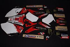 HONDA CRF 450X  FLU MX GRAPHICS KIT DECALS KIT STICKER KIT STICKERS