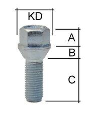 Radschraube M12 x 1,25 x 30mm Kegelbund 60° SW17