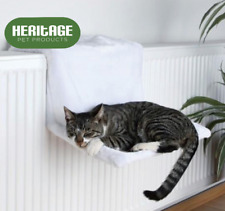 Dog Cat Radiator Bed Warm Faux Fur Kitten Basket Cradle Hammock Puppy Animal Pet