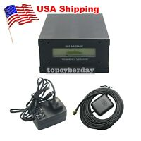 GPSDO LCD Display GPS Colck Disciplined Oscillator 10MHz Sine Wave 12V US Ship