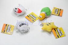Banpresto Super Mario Bros mini figure chainkey Star,Blooper,Boo,Troopa 4pcs