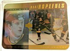1996-97 UPPER DECK HH12 ALEXANDER MOGILNY HART HOPEFULS GOLD SP ACETATE /100