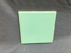 One Antique Ceramic Jadeite Green Tile 4x4 More Available WENCZEL VTG. 525-20B