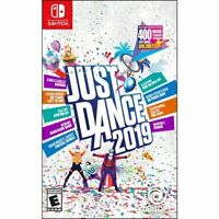 Just Dance 2019 (Nintendo Switch) Brand New Factory Sealed