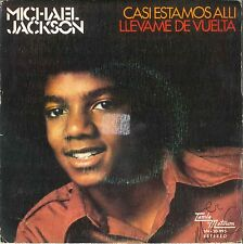 """Michael Jackson We're almost there (7"""" Espagne - 1972)"""