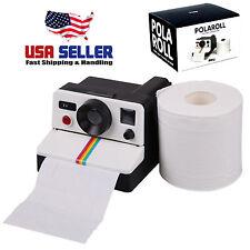 Doiy Polaroll Retro Polaroid Camera Shaped Toilet Roll Tissue Paper Holder Box