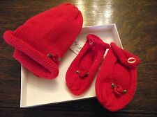 Collins Knitwear - 0-3 Mths Baby Hat & Booties - 100% Cotton - Brand New