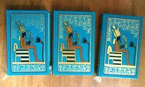 3 LIVRES EGYPTE  – LES MOMIES – ISIS – LA VENGENCE DES PHARAONS (MR-208)