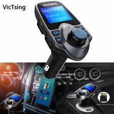 Bluetooth Wireless Car Aux Audio Receiver Auto Hands Free Fm Adapter Usb Charger