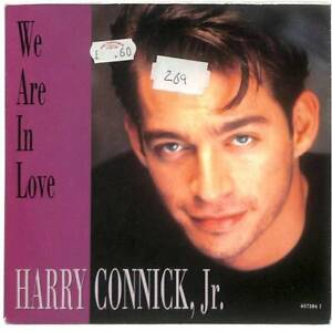 """Harry Connick, Jr. We Are In Love UK 7"""" Vinyl Record 1991 6572847 Columbia EX-"""