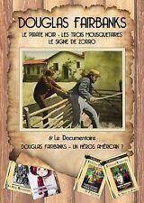 Coffret 4 DVD Douglas Fairbanks Pirate Noir Trois Mousquetaires Signe Zorro doc