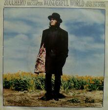 "7"" 1989 RARE! zucchero & Eric Clapton: wonderful World"
