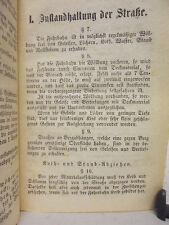 Pfaffenhofen – Ordnung für Wegmacher - 1875