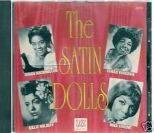 CD BEST OF THE SATIN DOLLS--WASHINGTON/SIMONE/HOLIDAY..