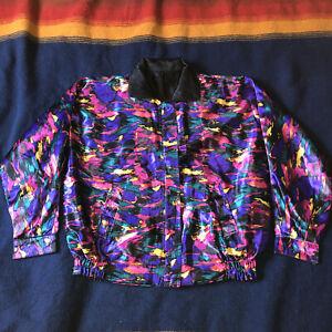 awesome vintage revsesable jacket size medium