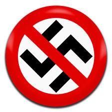 Anti Nazi Fascism 25mm / 1 Inch D Pin Button Badge