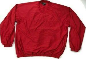 """Footjoy Wind Breaker Men's Jacket Size L Chest 50"""" Length 27"""" Sleeve 35"""""""