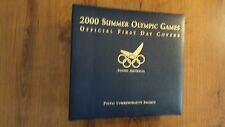2000 Summer Olympic Games Official First Day Covers Sydney Australia
