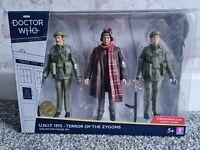 Doctor Who U.N.I.T. 1975 - Terror Of The Zygons Collector Figure Set BNIB B&M