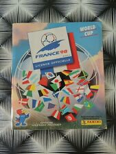 ALBUM PANINI FRANCE 98 COMPLET AVEC IRAN (FR98)