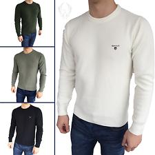 GANT Strukturpullover - Sweatshirt - 4 Farben - S M L XL XXL - NEU OVP