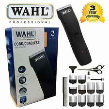 Wahl 9655-417 DA UOMO RICARICABILE BARBA CAPELLI Clipper Kit Cavo/Cordless Trimmer Set