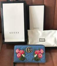 Japan limited Item GUCCI zip around denim wallet From JAPAN Free shipping