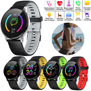 Bluetooth Smart Watch Heart Rate Watch For Men Women Android iPhone Samsung Moto
