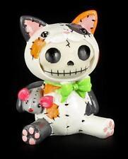 Furry Bones Figur - Calico Mao Mao - Furrybones Deko Figur lustig Gothic Skelett
