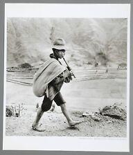 Werner Bischof Ltd. Ed. Photo Print 30x35cm Boy Flute Road Cuzco Pisac Peru 1954