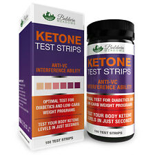 Ketone Urine Test Strips (100 Count) Best for Keto, Low Carb & Diabetic Diet