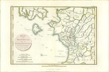 1817 Original Antique MAP ELIS TRIPHYLIA ISLAND of ZACYNTHUS Ancient GREECE (18)