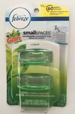 Febreze Small Spaces with Gain Refills Original 2ct pack Air Freshener Refills